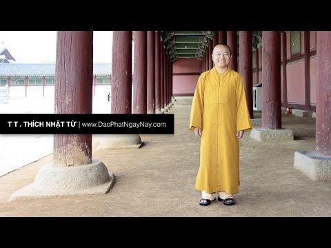 Duy Thức tam thập tụng - 13. Năm thức giác quan 2: Khứu giác, vị giác và xúc giác (22/10/2010) Thích Nhật Từ