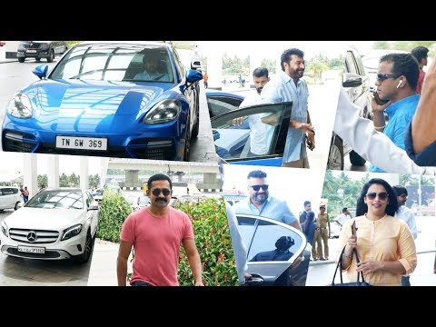 Celebrities With their Super Cars At Amma General Body Meeting 2019 | Mammotty, Mohanlal, Asif Ali