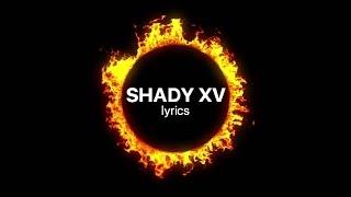 Eminem - Shady XV lyrics