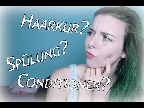 Spülung, Conditioner, Haarkur - UNTERSCHIEDE #HaarABC