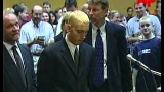 Eminem Goes To COURT!! Rare Footage From The Year 2000!
