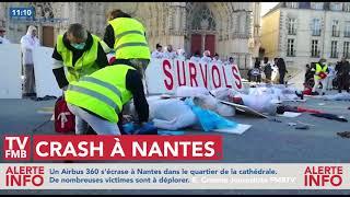 Crash à Nantes - Manifestation du 25/11/17