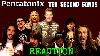 Vocal Coach Reacts To Pentatonix And Ten Second Songs   History Of Rock   Ken Tamplin