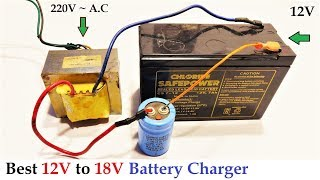 Download Video 12v to 18v DC from 220v AC Converter for Battery Charger || Amazing Idea DIY MP3 3GP MP4