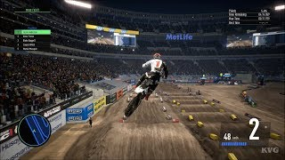 Monster Energy Supercross 3 - East Rutherford (Metlife Stadium) - New Jersey Gameplay HD