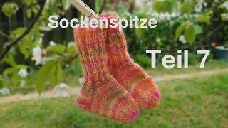 BABYSOCKEN  | KINDERSOCKEN STRICKEN | TEIL 7| Die Spitze