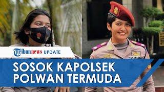 Sosok Wanita Kapolsek Termuda di Indonesia, Polwan Ipda Yulanda Alvaleri Masih Berusia 24 Tahun