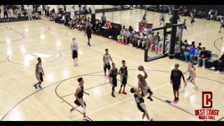 2017 CP3 National Middle School Combine Game Highlights (Los Angeles, CA)