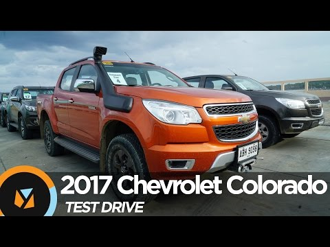 2017 Chevrolet Colorado Test Drive