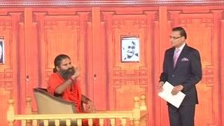 Swami Ramdev in Aap ki adalat (AIMA Session)