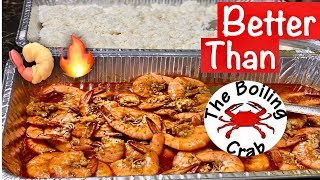 How to make Shrimp Seafood Boil like Boiling Crab Whole Sha-Bang| Camarones estilo Boiling Crab