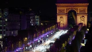preview picture of video 'Christmas Illumination Champs-Elysées Paris 2012-2013'