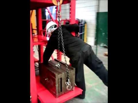 Video Rack con Tecle