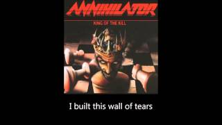Annihilator - In the Blood (Lyrics)
