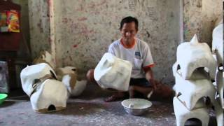 Đầu lân truyền thống Việt Nam