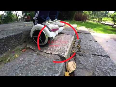 Biểu diễn xe điện 2 bánh tự cân bằng