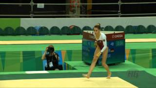 GRIESSER Leah (GER) - 2016 Olympic Test Event, Rio (BRA) - Apparatus Final Floor Exercise