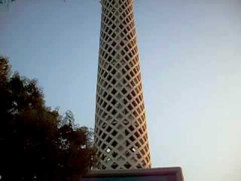 Voor de Caïro toren