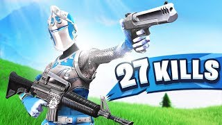 Ninja's Most INSANE Squads Match!! 27 Elims!!