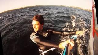 preview picture of video 'Windsurf en Piedras Moras!'