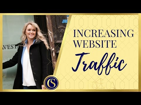 INCREASING WEBSITE TRAFFIC - THE TOP 5 WAYS TO GET MORE VISITORS TO YOUR WEBSITE