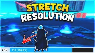 Stretched Res Back In Fortnite At Next New Now Vblog