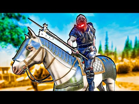 Worst Knight Ever Somehow Wins Medieval Battles With a Horse in Mordhau!