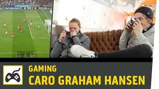 FIFA 17 Vs. Caroline Graham Hansen (VfL Wolfsburg) | Norwegen Vs. Deutschland | Kickbox