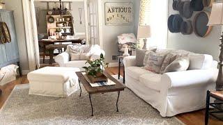 White Cottage Farmhouse Home Tour 🌿