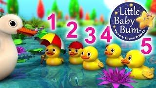 Five Little Ducks | Nursery Rhymes | from LittleBabyBum! | ABCs and 123s