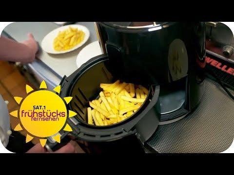 Heißluftfritteuse für 50€ vom Discounter: Was taugt sie? | SAT.1 Frühstücksfernsehen | TV