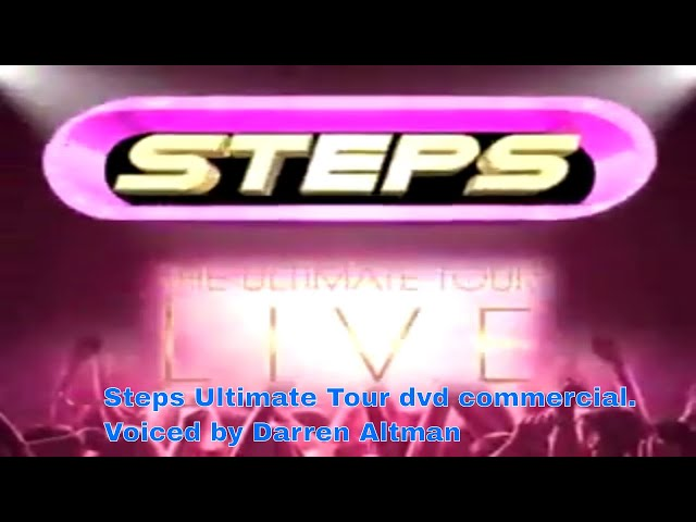 Steps Tour dvd