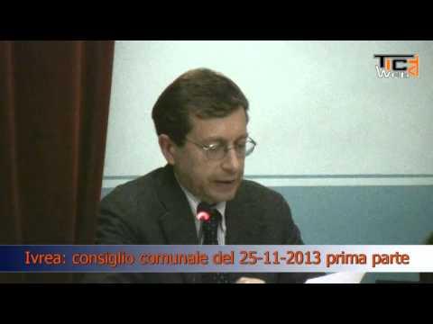 Preview video Ivrea consiglio comunale del 25 11 2013 prima parte