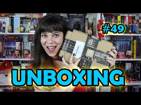 Unboxing DarkSide Books #49