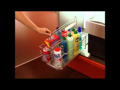 Découvrez notre ensemble coulissant sous-évier - Accessoires-de-cuisines.com