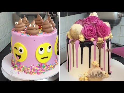 Amazing Birthday Cake Decorating Tutorials Compilation 2017 🍰🍰🍰🍰🍰