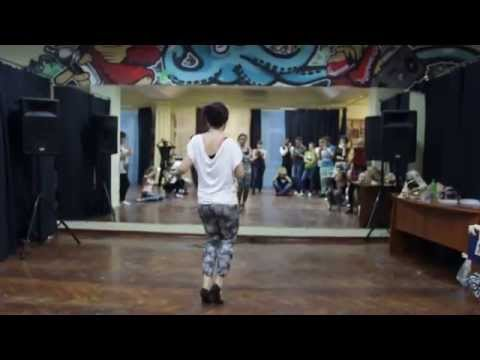 Wilsquin y Maria. Bachata dominicana @ Mambo Tribe Workshops in Saratov. Part 2