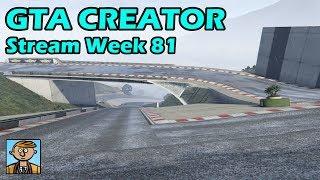 GTA Race Track Showcases (Week 81) [PS4] - GTA 5 Content Creator Live Stream