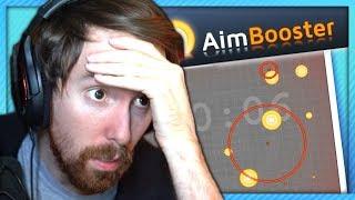 Asmongold Trains His Aim on a Simulator (100% SKILL)
