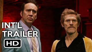 Dog Eat Dog Official International Trailer #1 (2016) Nicolas Cage, Willem Dafoe Crime Movie HD