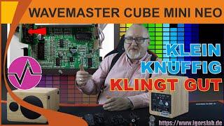 Klein, günstig und klingt gut: Wavemaster Cube Mini Neo im Test | Aktive 2.0 Stereolautsprecher