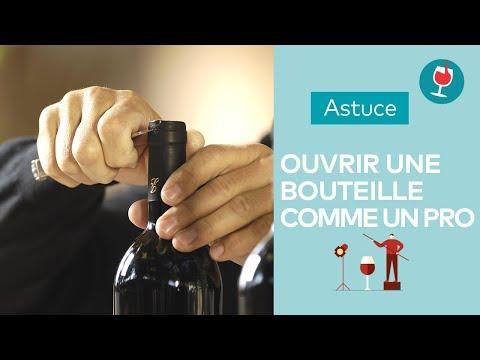 comment ouvrir du vin