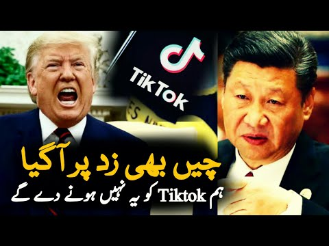 China Statement On America Buy Tiktok | Tiktok | DonaldTrump | TikTok Ban