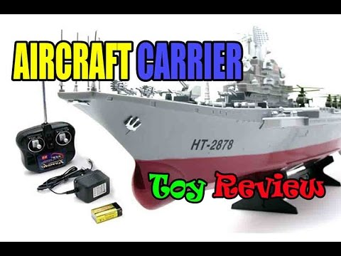 Kids toy videos: Aircraft Carrier – Amphibious assault ship – rc boats