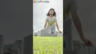 Can She Jump a House!? Magic Jump funny vfx video | Viral magic video
