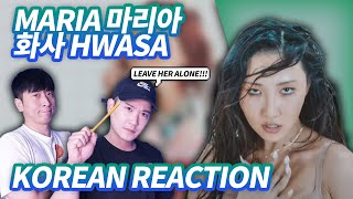 🔥(ENG) KOREAN RAPPERS react to Hwa Sa(화사) - Maria(마리아)🔥