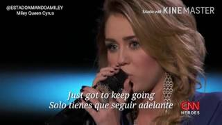 "Miley Cyrus Performs ""The Climb"" Live At CNN Heroes 2011   Spanish Subtitles"