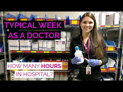 A WEEK AS A DOCTOR: How Many Hours in Hospital? (Medical Resident Vlog)
