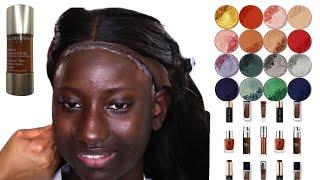 BRIDAL  MAKEUP AND HAIR TRANSFORMATION  FOR DARK SKIN  LAKI HAIR