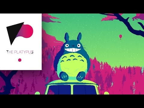 ILLUSTRATOR POSTER SPEED ART (totoro van)